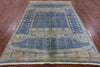 "Gabbeh Hand Knotted Area Rug - 6' 5"" X 9' 3"" - Golden Nile"