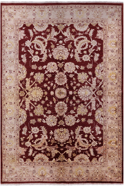 Peshawar Collection Oriental Rug 6 X 9 - Golden Nile
