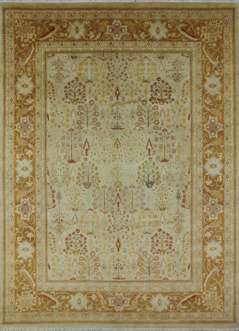 9 X 12 Wool Ziegler Hand Knotted Area Rug