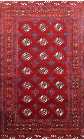 Hand Knotted Oriental Authentic Persian Area Rug 4 X 7
