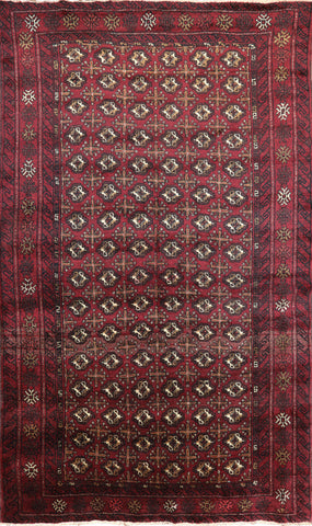 Wool On Wool 5 X 8 Bokhara Persian Area Rug