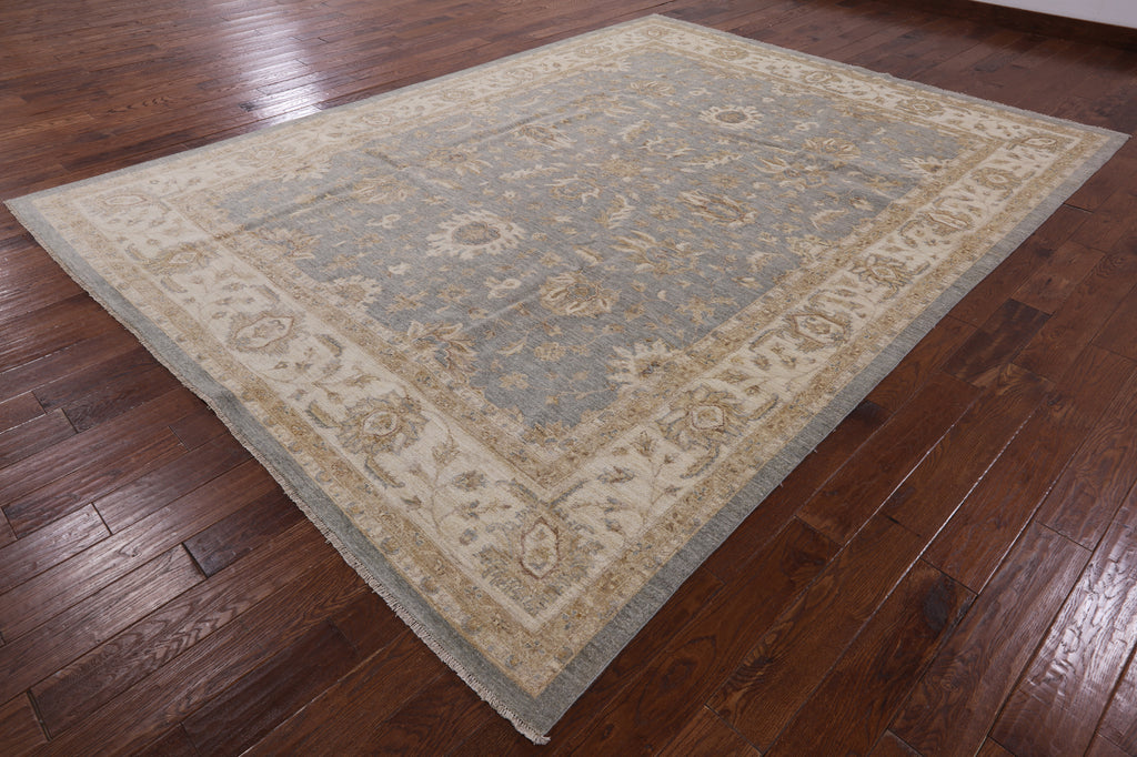 ... Oriental Oushak Hand Knotted Wool Area Rug 9 X 12   Golden Nile ...