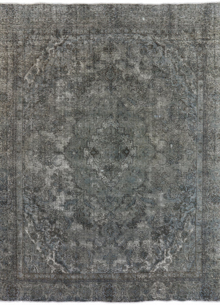 Handmade 9 X 12 Overdyed Area Rug -  Golden Nile