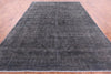 Hand Knotted 10 X 13 Overdyed Area Rug - Golden Nile
