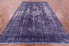 9 X 13 Overdyed Hand Knotted area Rug -  Golden Nile