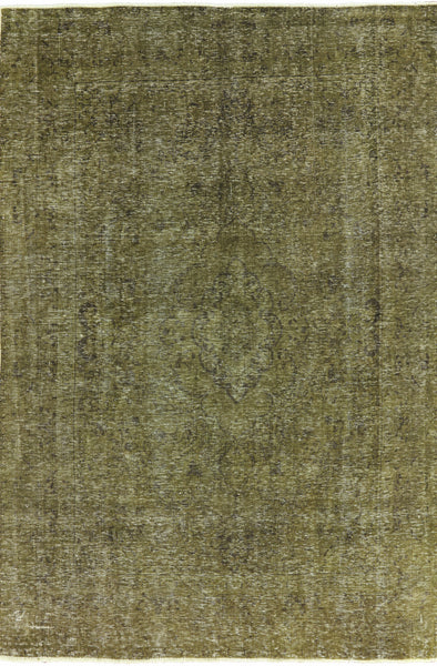 Oriental 6 X 9 Overdyed Area Rug - Golden Nile