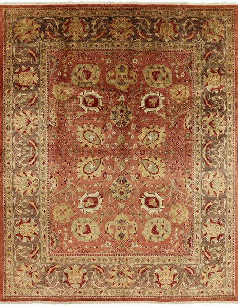 Traditional Peshawar Chobi 8 X 10 Area Rug -  Golden Nile