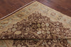 "Peshawar Hand Knotted Area Rug - 8' 2"" X 9' 10"" - Golden Nile"