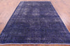 Overdyed Hand Knotted Area Rug 7 X 11 -  Golden Nile