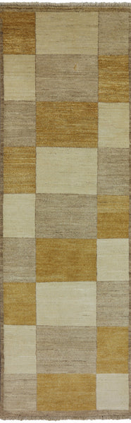 3 X 8 Oriental Gabbeh Area Rug -  Golden Nile