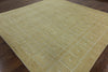 10' Square Gabbeh Oriental Area Rug - Golden Nile