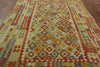 Flat Weave Reversible 8 X 11 Kilim Area Rug - Golden Nile