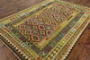 7 X 10 Geometric Flat Weave Kilim Area Rug - Golden Nile