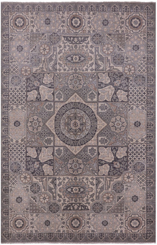 Persian 6 X 9 White Wash  Area Rug