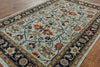Super Fine Serapi Handmade Area Rug 6 X 9 -  Golden Nile