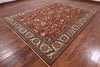 Super Fine Serapi Hand Knotted Area Rug 9 X 12 -  Golden Nile