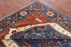8 X 10 Super Fine Serapi Handmade Area Rug -  Golden Nile