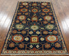 Fine Serapi Hand Knotted Area Rug 4 X 6 -  Golden Nile