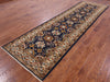 4 X 12 Fine Serapi Hand Knotted Area Rug -  Golden Nile