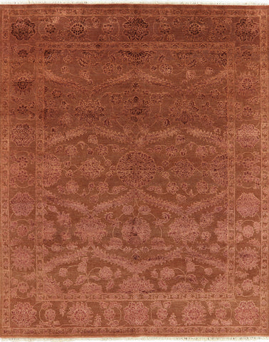 Floral Persian 8 X 10 Area Rug