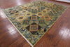 "William Morris Hand Knotted Wool Area Rug - 10' 4"" X 13' 7"" - Golden Nile"