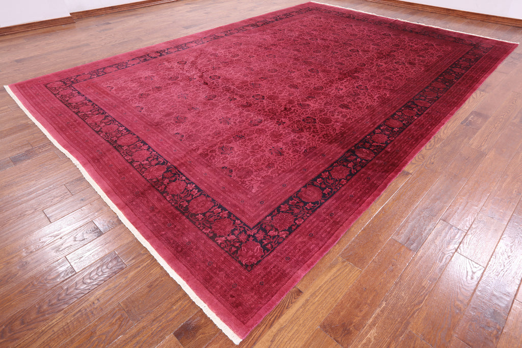 Persian Handmade Overdyed Area Rug 10 X 15