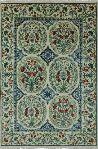 Arts And Crafts Oriental 6 X 9 Area Rug