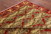 "William Morris Wool Area Rug - 9' 1"" X 12' - Golden Nile"
