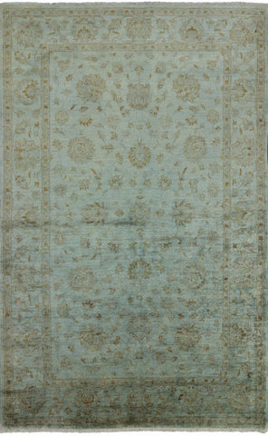 Persian Overdyed Full Pile Area Rug 6 X 10