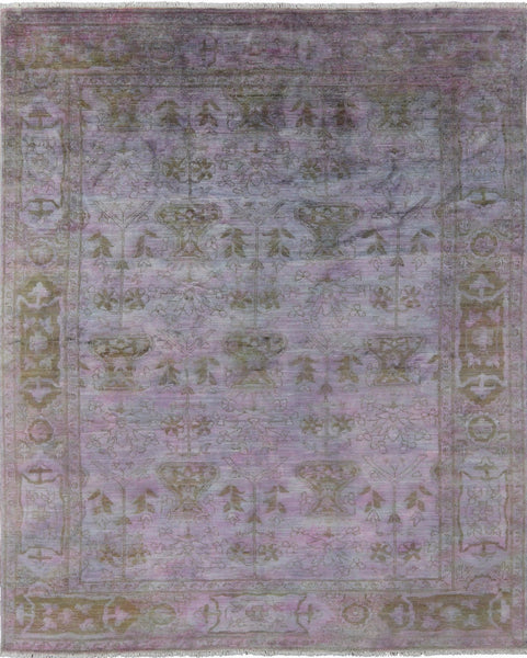 Traditional Persian Overdyed Area Rug 8 X 10 -  Golden Nile