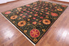 "William Morris Handmade Wool Area Rug - 9' 3"" X 13' 7"" - Golden Nile"