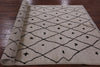 "Signed Moroccan Area Rug - 5' 2"" X 7' 10"" - Golden Nile"
