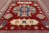 "Kazak Hand Knotted Rug - 8' 3"" X 11' 1"" - Golden Nile"