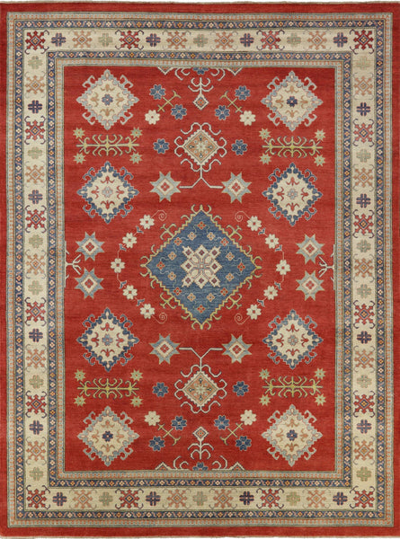 Super Kazak Medallion Rug 11 X 14 - Golden Nile