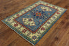 Oriental 4 X 6 Super Kazak Area Rug - Golden Nile