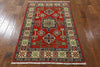 Super Kazak Hand Knotted Rug 3 X 5 - Golden Nile