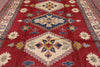 "Kazak Hand Knotted Area Rug - 8' 8"" X 11' 2"" - Golden Nile"