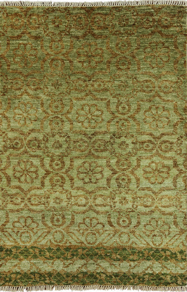 Overdyed Vibrance Area Rug 4 X 6 - Golden Nile