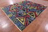 Oriental Geometric Gabbeh Area Rug 8 X 10 - Golden Nile