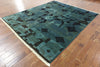 Modern Signed Gabbeh Area Rug 8 X 10 - Golden Nile
