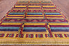 "South Western Navajo Design Moroccan Rug - 9' 6"" X 11' 10"" - Golden Nile"
