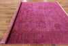 Overdyed Full Pile Wool Handmade Rug 8 X 10 - Golden Nile