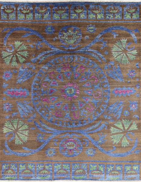 Arts & Crafts Handmade Rug 9 X 12 - Golden Nile