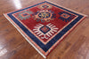 "Square Arts And Crafts Handmade Rug - 6' 3"" X 6' 4"" - Golden Nile"