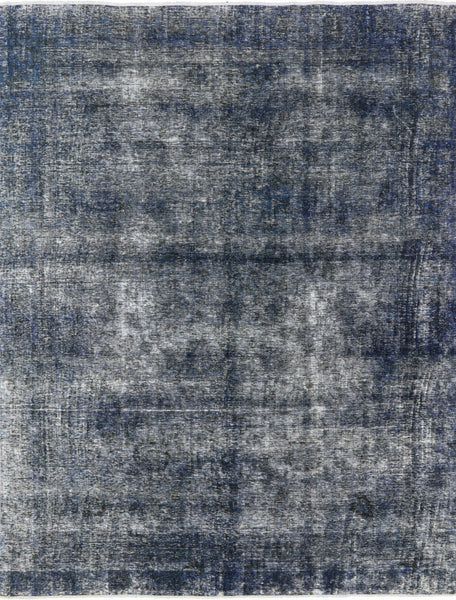 Hand Knotted 9 X 11 Overdyed Rug - Golden Nile