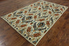 Arts And Crafts Oriental Area Rug 6 X 9 - Golden Nile