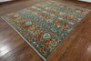 9 X 11 Arts And Crafts Handmade Oriental Area Rug - Golden Nile