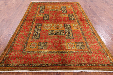 Wool Hand Knotted Suzani 6 X 9 Rug