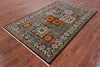 "William Morris Handmade Wool Area Rug - 5' 3"" X 7' 10"" - Golden Nile"