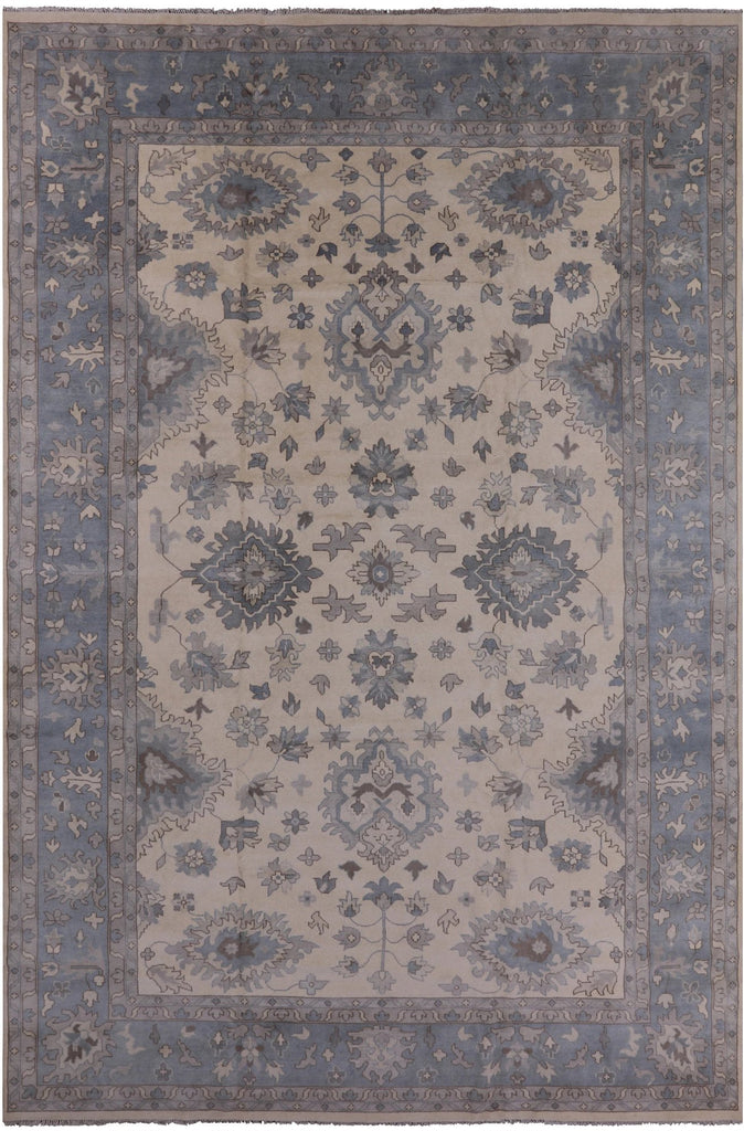 11 11 X 17 10 Oriental Hand Knotted Oushak Wool Area Rug